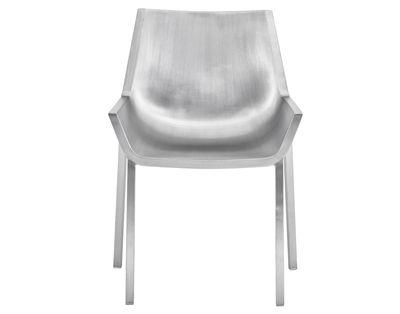 Mobilier - Chaises, fauteuils de salle à manger - Chaise Sezz / Aluminium - Emeco - Aluminium brossé - Aluminium finition brossé
