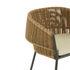 Fauteuil Lapel / Rotin synthétique - Coussin d'assise - Cinna