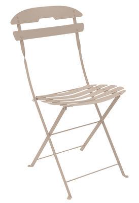 Furniture - Chairs - La Môme Folding chair - Steel by Fermob - Nutmeg - Painted steel
