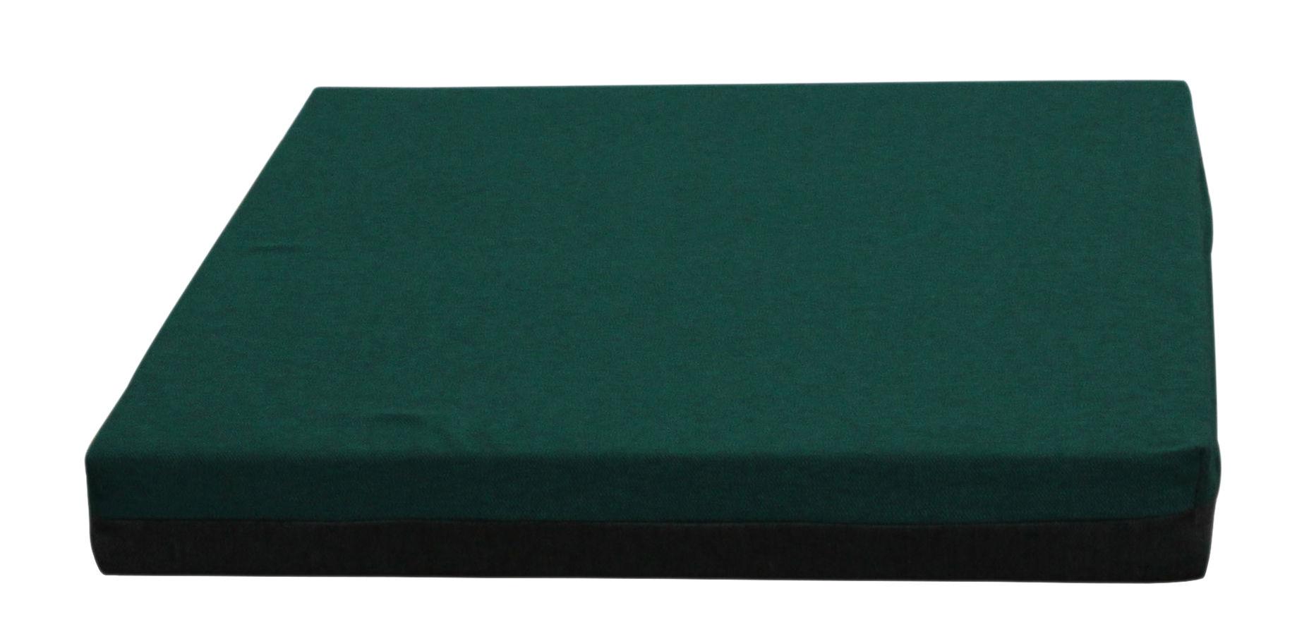 Mobilier - Compléments d'ameublement - Matelas Connect / Small - Avec aimants - Trimm Copenhagen - Vert foncé / Gris - Mousse, Tissu Acrisol Twitell