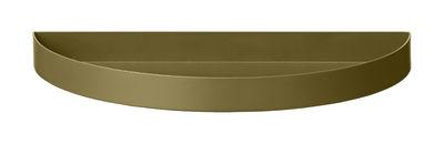 Arts de la table - Plateaux - Plateau Unity / Demi-cercle - L 21,5 cm - AYTM - Vert brossé - Fer peint