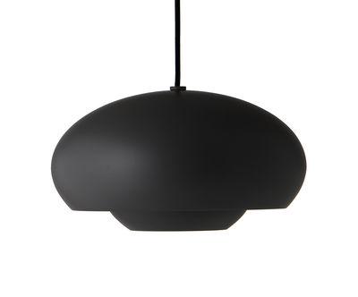 Illuminazione - Lampadari - Sospensione Champ - / Ø 30 cm di Frandsen - Nero - alluminio verniciato