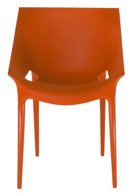 Möbel - Stühle  - Dr. YES Stapelbarer Sessel - Kartell - Orangerot - Polypropylen