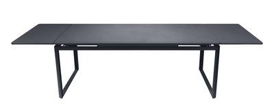 Table à rallonge Biarritz / L 200 à 300 cm - Fermob carbone en métal
