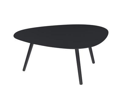 Table basse Vanity / 86 x 71 cm - Aluminium - Vlaemynck gris en métal