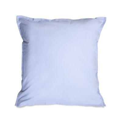 Taie d'oreiller 65 x 65 cm / Percale lavée - Au Printemps Paris bleu en tissu