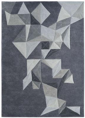 Interni - Tappeti - Tappeto Pliages by Daniel Hechter / 170 x 240 cm - Lavorato a mano - Toulemonde Bochart - Grigio - Lana