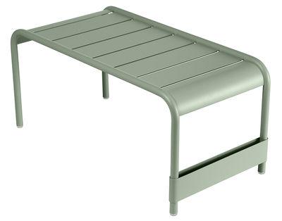 Arredamento - Tavolini  - Tavolino basso Luxembourg / Panca - L 86 cm - Fermob - Cactus - Alluminio laccato