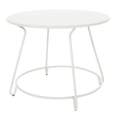 Tavolo Tondo 100 Cm.Tavolo Rotondo Huggy Di Maiori Bianco Made In Design