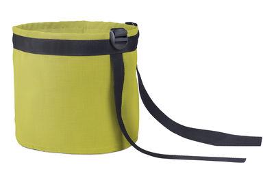 Image of Vaso sospeso Accroché Batyline® / 10 L - Outdoor - Bacsac - Giallo/Verde - Tessuto