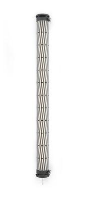Luminaire - Appliques - Applique Rivoli LED / Suspension - L 130 cm - SAMMODE STUDIO - Noir - Acier inoxydable, Aluminium anodisé, Polycarbonate