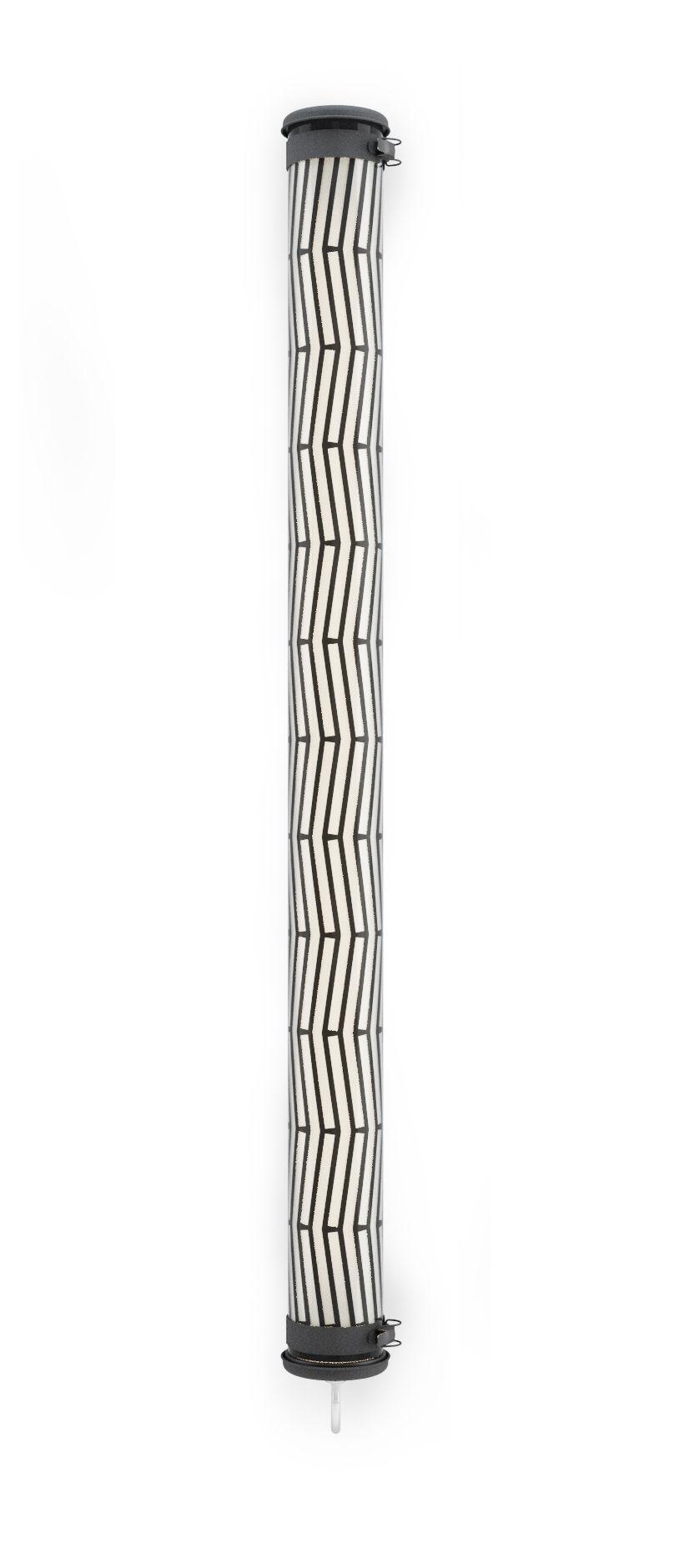 Illuminazione - Lampade da parete - Applique Rivoli LED - / Sospensione - L 130 cm di SAMMODE STUDIO - Noir - Acciaio inossidabile, Alluminio anodizzato, policarbonato