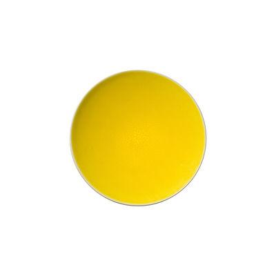 Arts de la table - Assiettes - Assiette à mignardises Tourron / Ø 14 cm - Grès fait main - Jars Céramistes - Citron - Grès émaillé