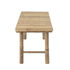 Sole Bench - / Bamboo - L 180 cm by Bloomingville