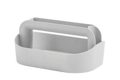 Boîte Tool Box, Boîte à maquillage L 30,5 x H 14,5 cm Hay gris en matière plastique