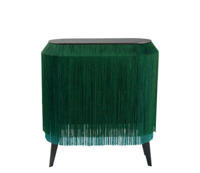 Mobilier - Tables basses - Buffet Baby Alpaga / Etagère - L 66 x H 72 cm - Ibride - Vert éclatant - Stratifié massif, Viscose
