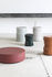 Pawn Coffee table - / Ø 68 x H 20 cm - Terracotta by Serax