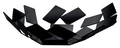 Corbeille La Stanza dello Scirocco / Ø 24 x H 6 cm - Alessi noir en métal