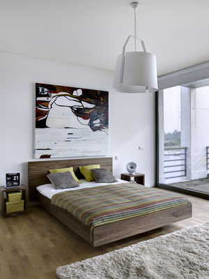 Lit double Bedpost / King Size - 180 x 200 cm - POP UP HOME