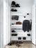 Montante murale String® Outdoor - / Acciaio zincato - H 50 x P 30 cm - ad unità di String Furniture