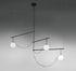 nh S3 Pendant - / Blown glass & brass by Artemide