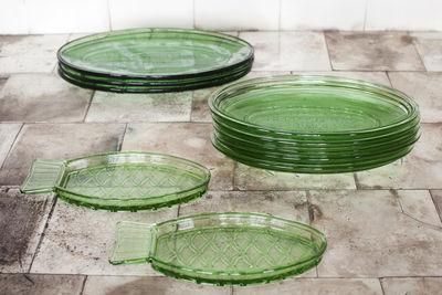 Taglia Unica Scala in Vetro Serax Fish /& Fish Colore: Verde