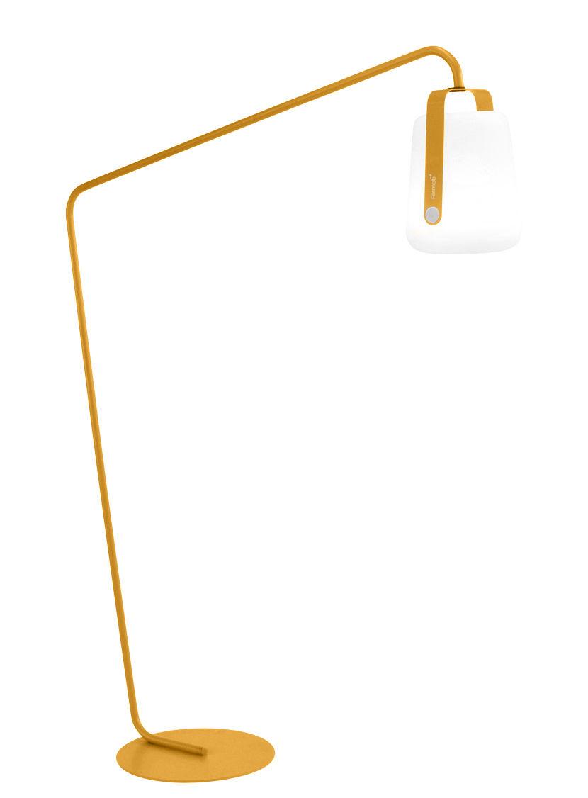 Mobilier - Mobilier lumineux - Pied pour lampes Balad / Large H 190 cm - Déporté - Fermob - Miel - Acier
