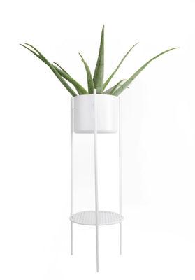 Pot de fleurs Ent Large / H 98 cm - Métal - XL Boom blanc en métal