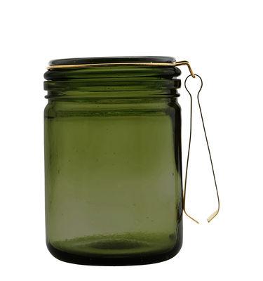 Seau à glaçons / Avec pince - House Doctor vert,laiton en métal