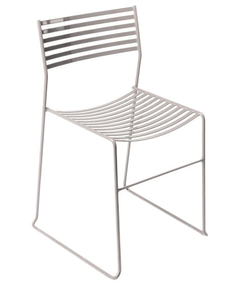 Möbel - Stühle  - Aero Stapelbarer Stuhl - Emu - Aluminium - lackierter Stahl