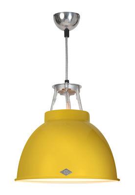 Suspension Titan 1 / Métal - Ø 36 x H 36 cm - Original BTC blanc,jaune en métal