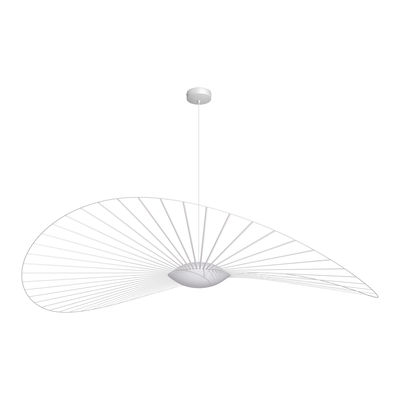 Suspension Vertigo Nova LED / Ø 190 cm - Petite Friture blanc en matière plastique