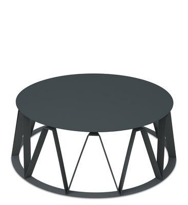 Table basse Auguste / Ø 74 x H 26 cm - Métal - Presse citron granit en métal