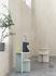 Table d'appoint Halves / 2 plateaux - Pierre acrylique - Muuto