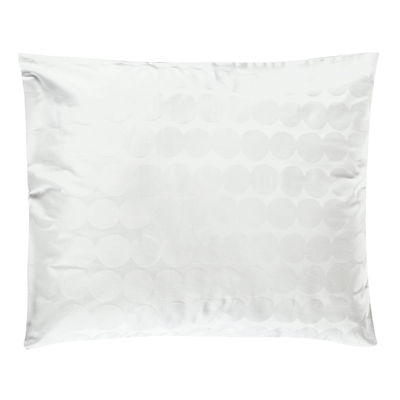 The Christmas shop - Small prices - Räsymatto Pillowcase 50 x 60 cm - / 50 x 60 cm by Marimekko - Räsymatto / White - Satin cotton