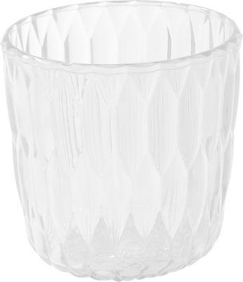 Vase Jelly /Seau à glace /Corbeille - Kartell transparent en matière plastique