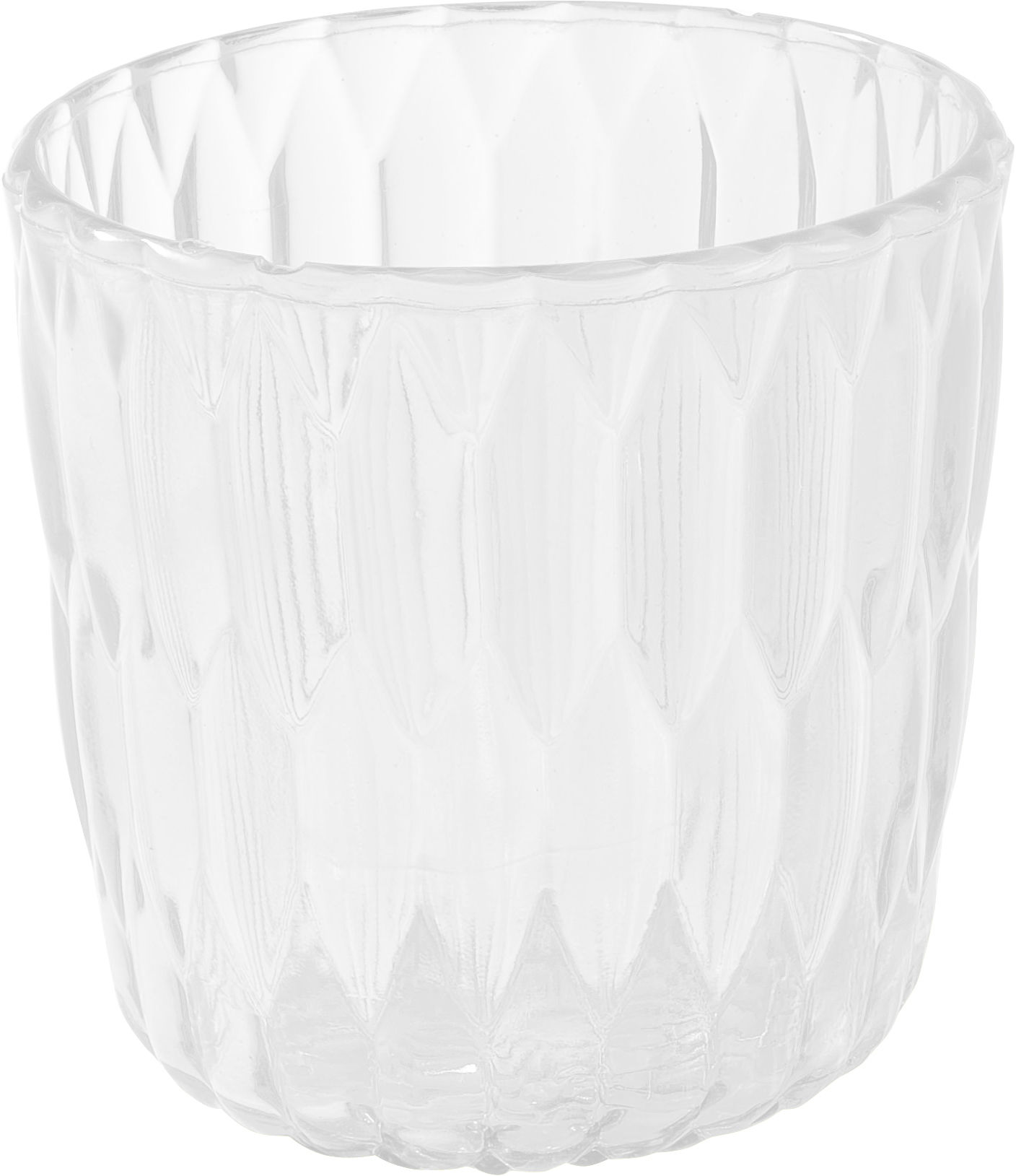 Decoration - Vases - Jelly Vase - Ice bucket by Kartell - Crystal - PMMA