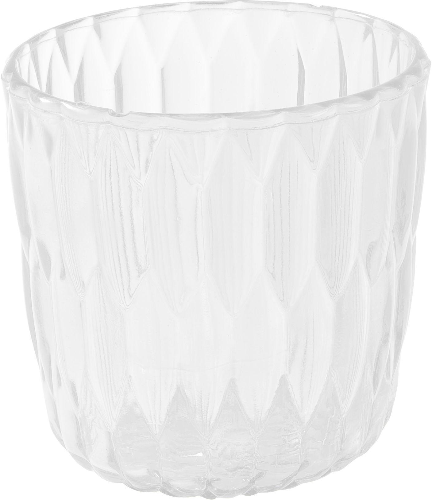 Interni - Vasi - Vaso Jelly - /Secchiello per ghiaccio / Cestino di Kartell - Cristallo - PMMA