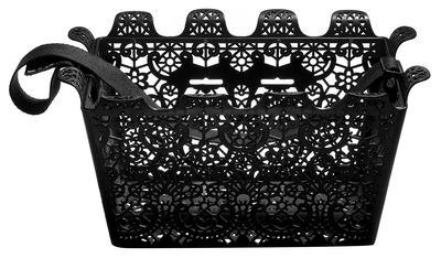 Accessories - Bags, Purses & Luggage - Carrie Bicycle basket by Design House Stockholm - Black - Polypropylene