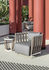 Swing Small Coffee table - / 50 x 50cm by Ethimo