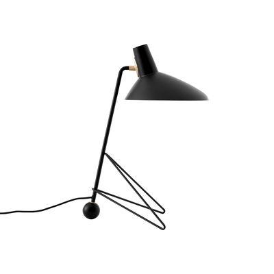Luminaire - Lampes de table - Lampe de table Tripod HM9 / Modèle de 1953 - &tradition - Noir - Acier, Aluminium