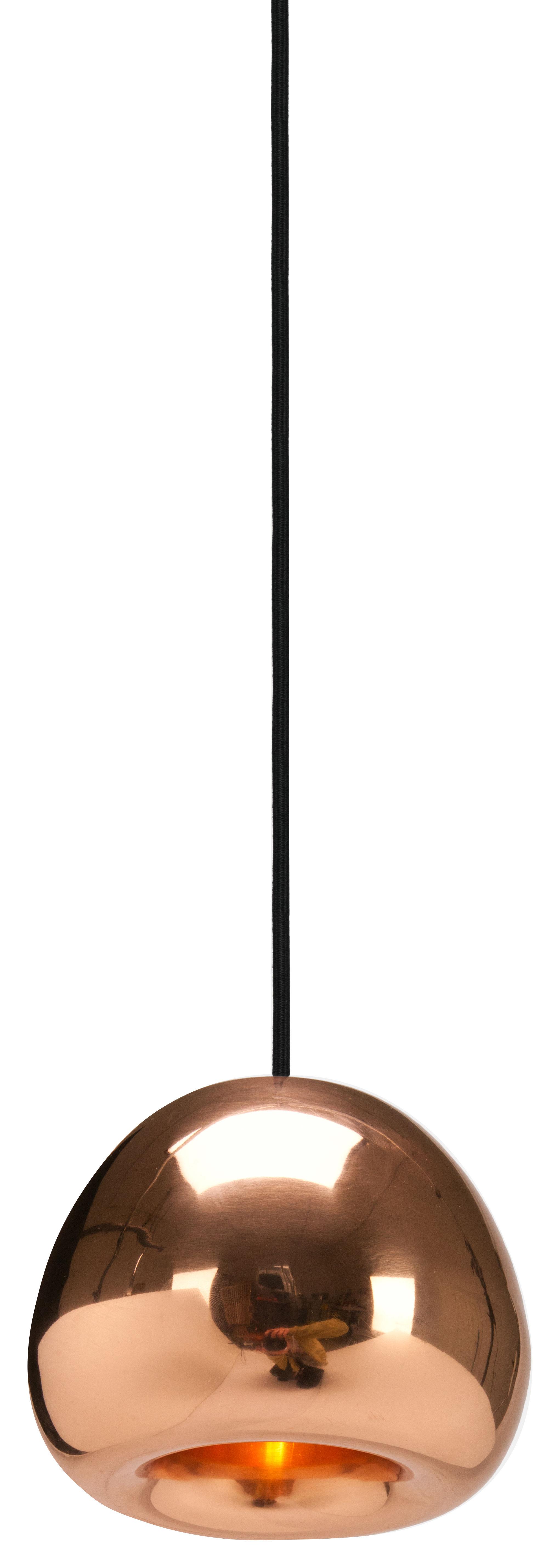 Lighting - Pendant Lighting - Void Mini Pendant - Ø 15,5 cm by Tom Dixon - Copper - Polished copper