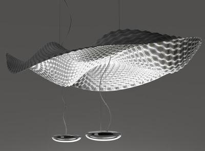 Leuchten - Pendelleuchten - Cosmic Angel Pendelleuchte - Artemide - Spiegel - Plastikmaterial, poliertes Aluminium