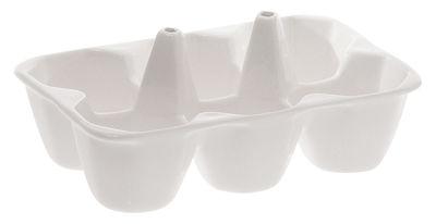 Tavola - Piatti da portata - Piatto Estetico quotidiano - / Piatto a scomparti di Seletti - Bianco - Piatto a compartimenti - Porcellana