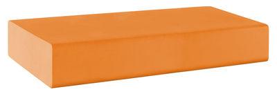 Pouf Matrass Mat 150 - Quinze & Milan orange en matière plastique