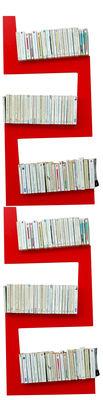 Arredamento - Scaffali e librerie - Scaffale TwoSnakes - Set di 2 di La Corbeille - Rosso - MDF laccato