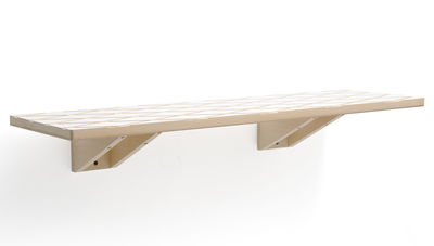 Furniture - Bookcases & Bookshelves - Marquise Shelf by Y'a pas le feu au lac - White/natural wood - Beechwood