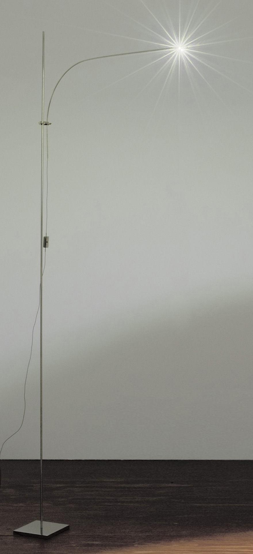 Leuchten - Stehleuchten - UAU Stehleuchte - Catellani & Smith - Silberfarben - Metall