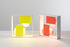 Fato Bicolor Table lamp - / Wall light - 1969 reissue by Artemide