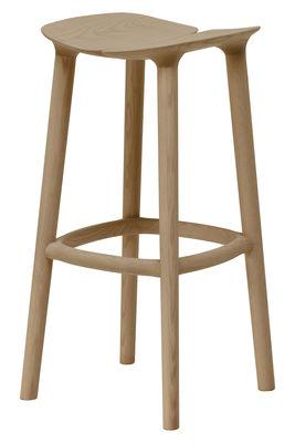 Tabouret de bar Osso / H 75 cm - Bois - Mattiazzi chêne naturel en bois